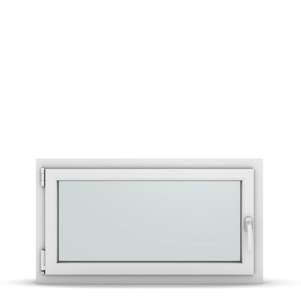 Wohnraumfenster 1-flg. Allegro Max Weiß 1000x500 mm DIN Dreh-Kipp Links-36838
