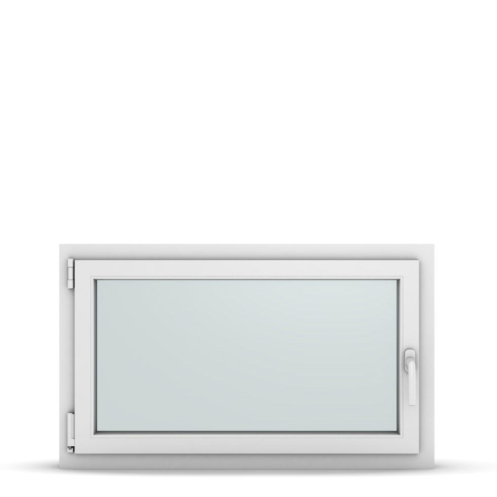Wohnraumfenster 1-flg. Allegro Max Weiß 1000x600 mm DIN Dreh-Kipp Links-36839