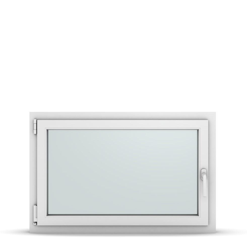 Wohnraumfenster 1-flg. Allegro Max Weiß 1000x650 mm DIN Dreh-Kipp Links-36840