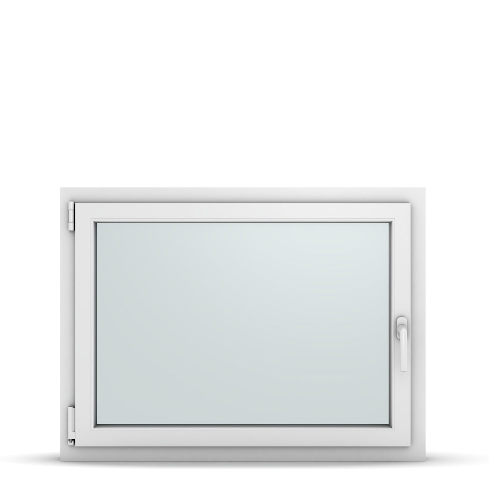 Wohnraumfenster 1-flg. Allegro Max Weiß 1000x750 mm DIN Dreh-Kipp Links-36842