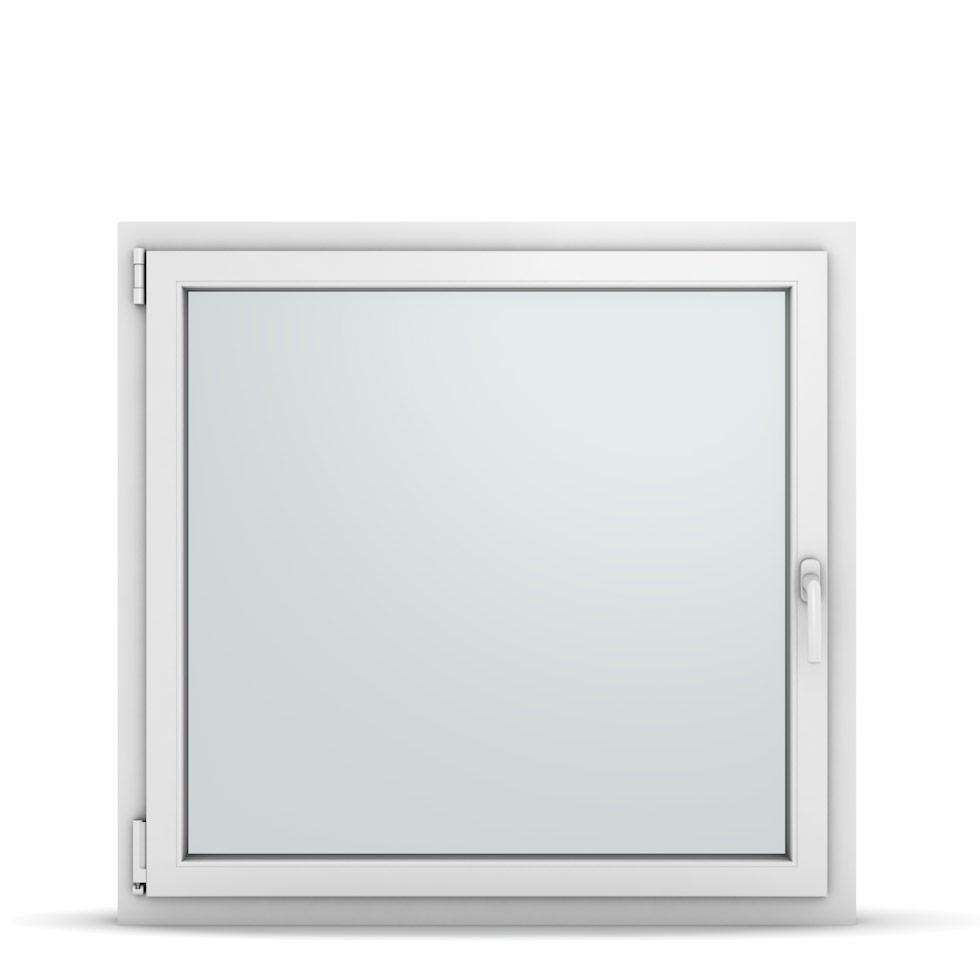 Wohnraumfenster 1-flg. Allegro Max Weiß 1050x1000 mm DIN Dreh-Kipp Links-36872