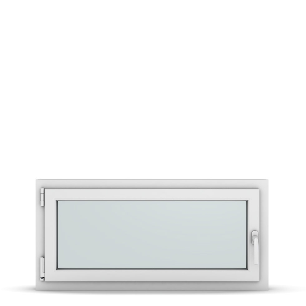 Wohnraumfenster 1-flg. Allegro Max Weiß 1050x500 mm DIN Dreh-Kipp Links-36862