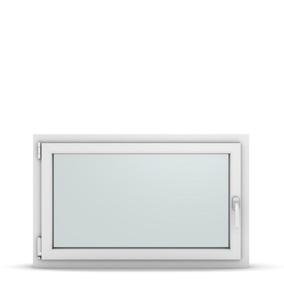 Wohnraumfenster 1-flg. Allegro Max Weiß 1050x650 mm DIN Dreh-Kipp Links-36865