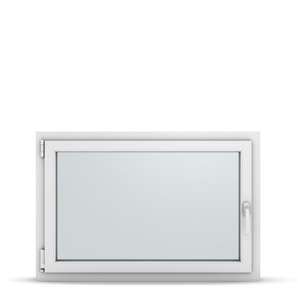 Wohnraumfenster 1-flg. Allegro Max Weiß 1050x700 mm DIN Dreh-Kipp Links-36866