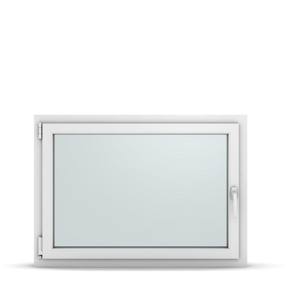 Wohnraumfenster 1-flg. Allegro Max Weiß 1050x750 mm DIN Dreh-Kipp Links-36867