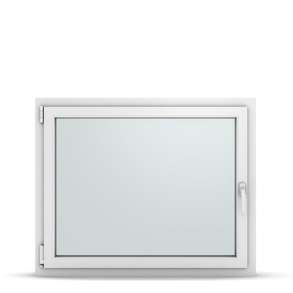 Wohnraumfenster 1-flg. Allegro Max Weiß 1050x850 mm DIN Dreh-Kipp Links-36869