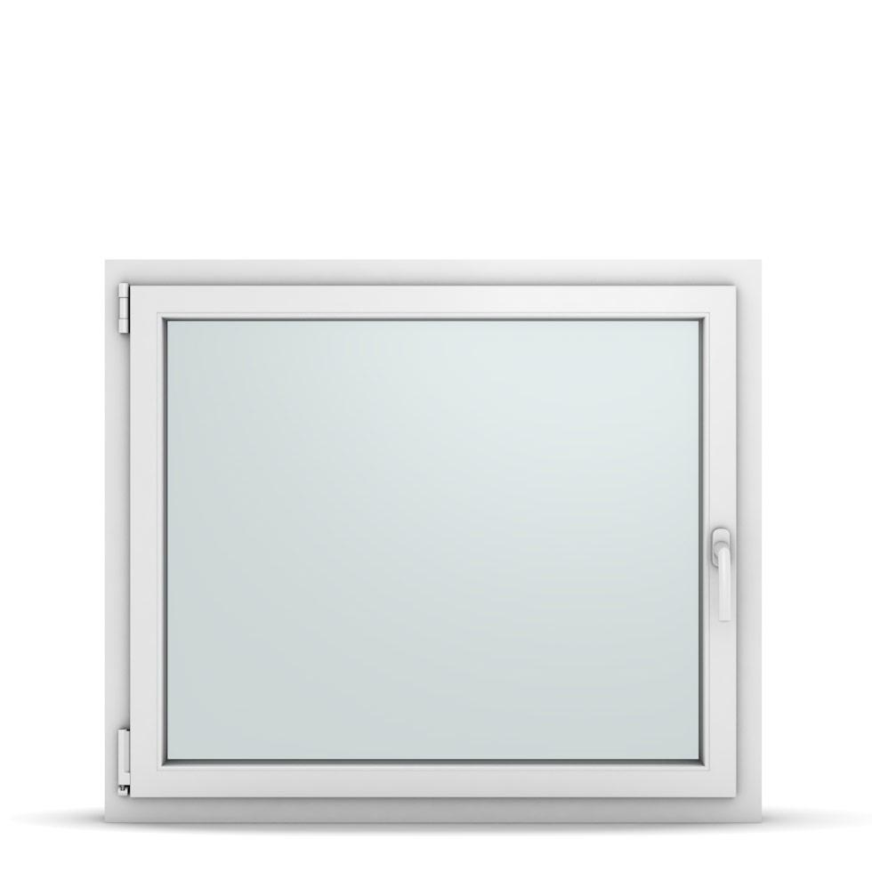 Wohnraumfenster 1-flg. Allegro Max Weiß 1050x900 mm DIN Dreh-Kipp Links-36870