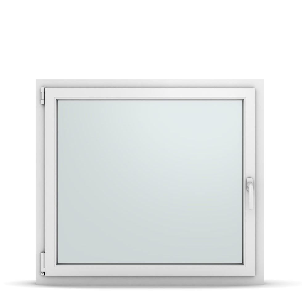 Wohnraumfenster 1-flg. Allegro Max Weiß 1050x950 mm DIN Dreh-Kipp Links-36871