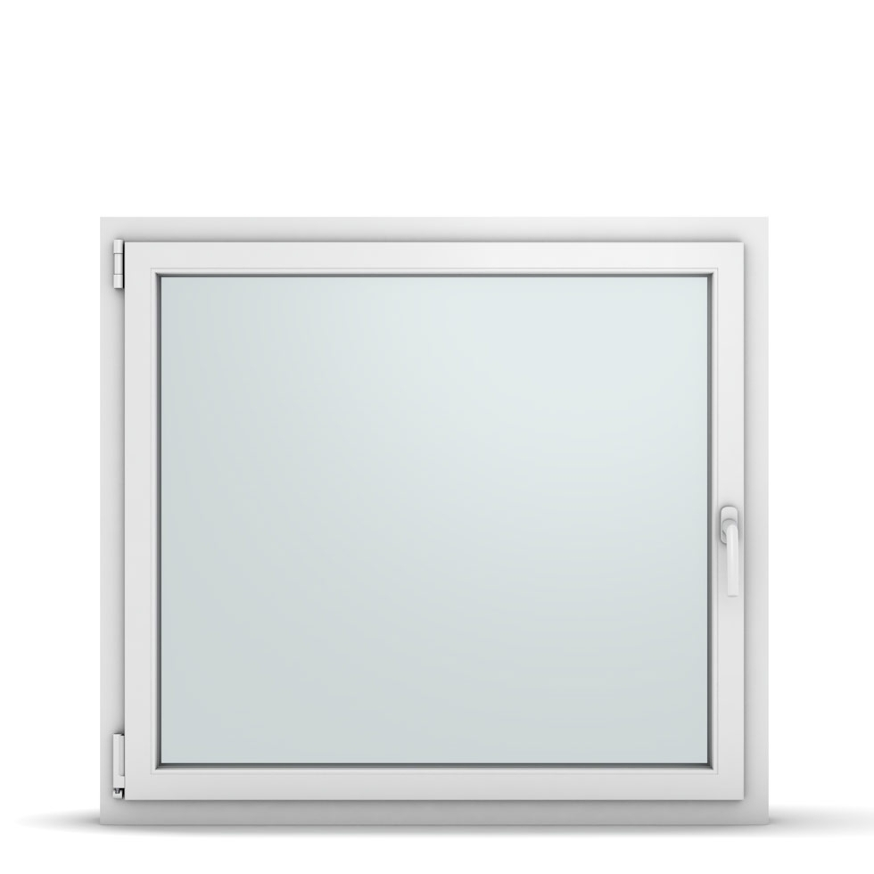 Wohnraumfenster 1-flg. Allegro Max Weiß 1100x1000 mm DIN Dreh-Kipp Links-36897