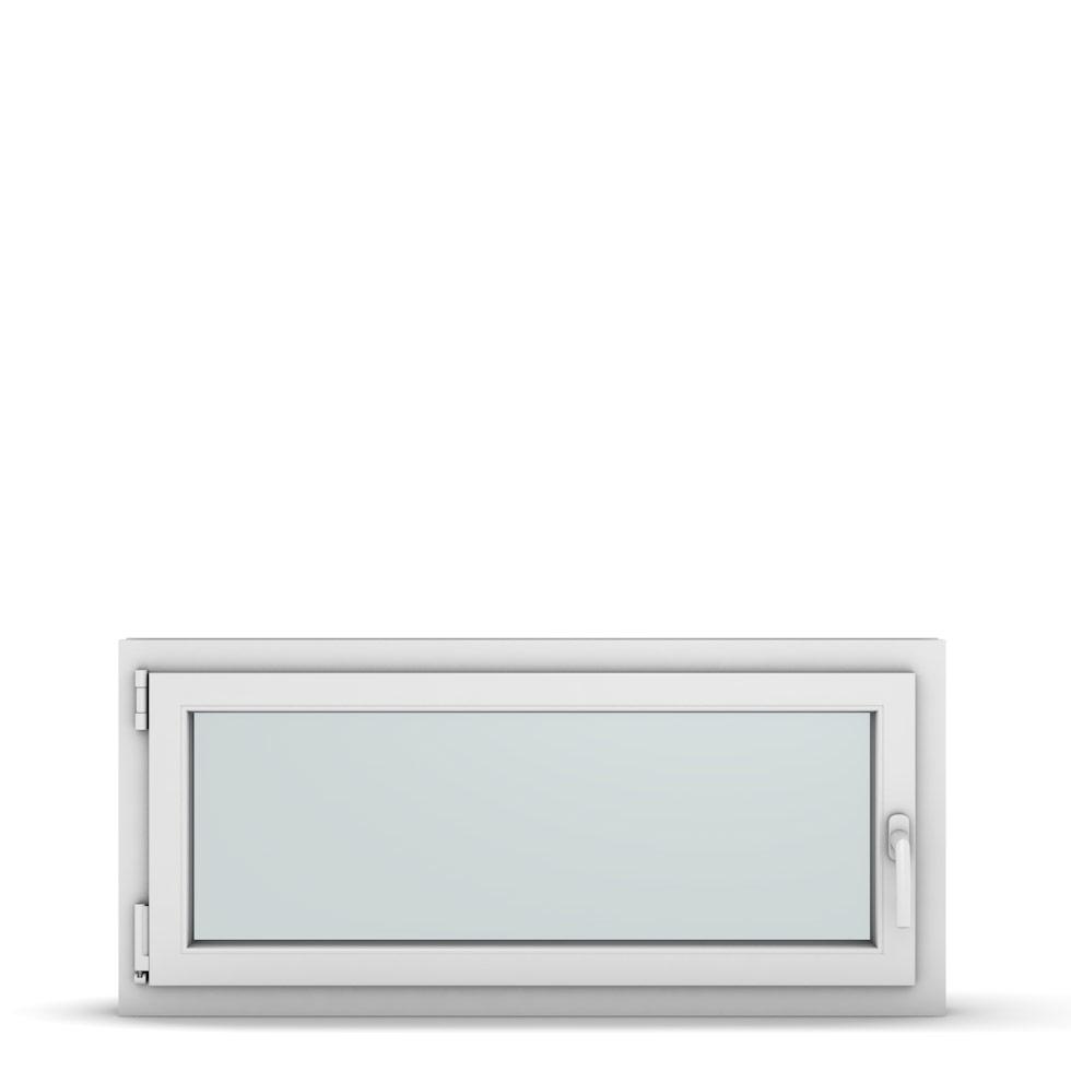 Wohnraumfenster 1-flg. Allegro Max Weiß 1100x500 mm DIN Dreh-Kipp Links-36887