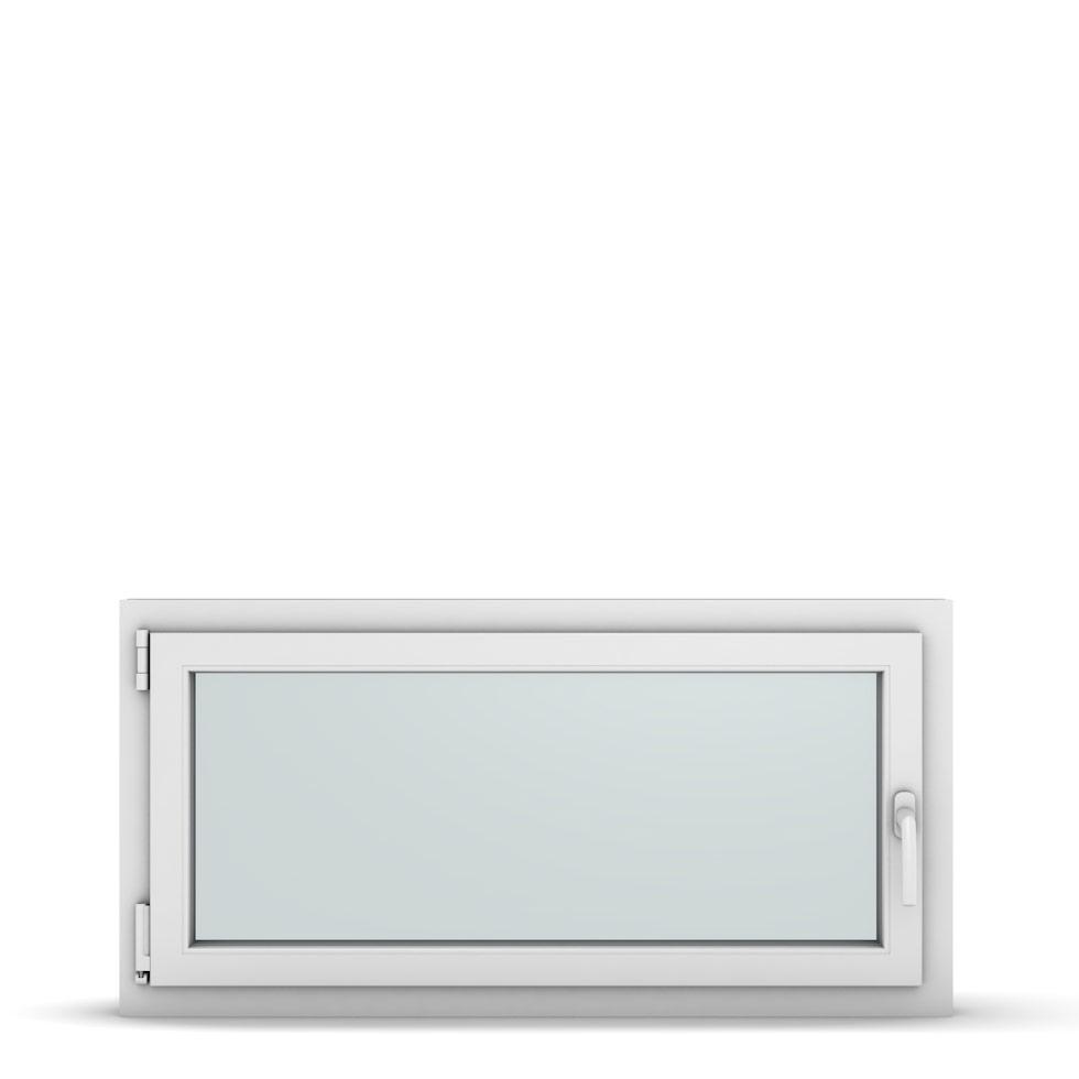 Wohnraumfenster 1-flg. Allegro Max Weiß 1100x550 mm DIN Dreh-Kipp Links-36888