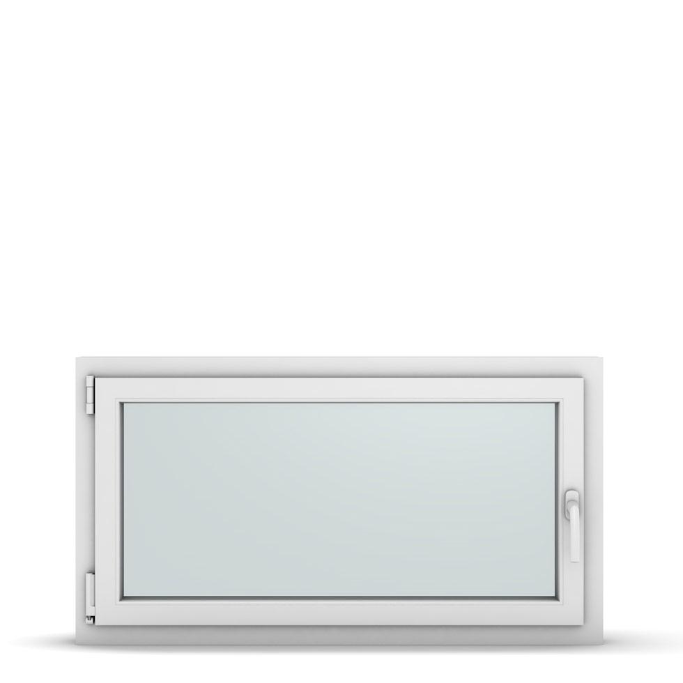 Wohnraumfenster 1-flg. Allegro Max Weiß 1100x600 mm DIN Dreh-Kipp Links-36889