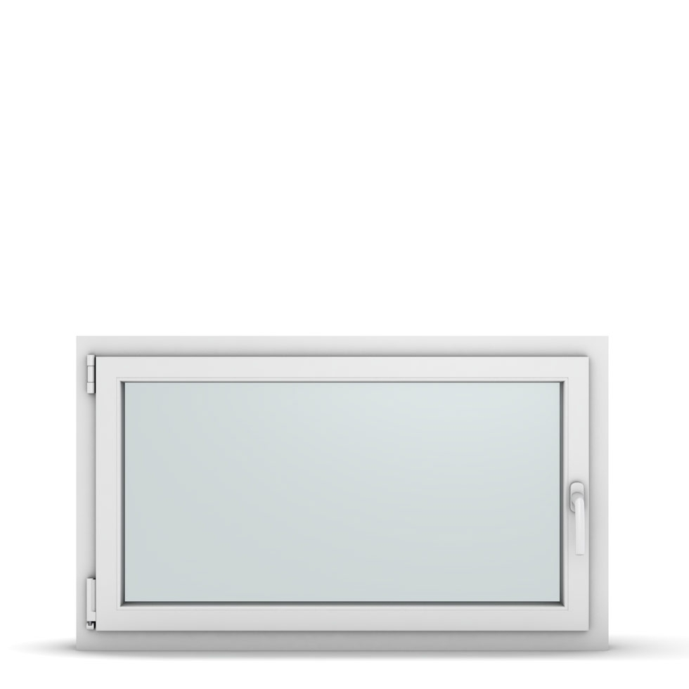 Wohnraumfenster 1-flg. Allegro Max Weiß 1100x650 mm DIN Dreh-Kipp Links-36890