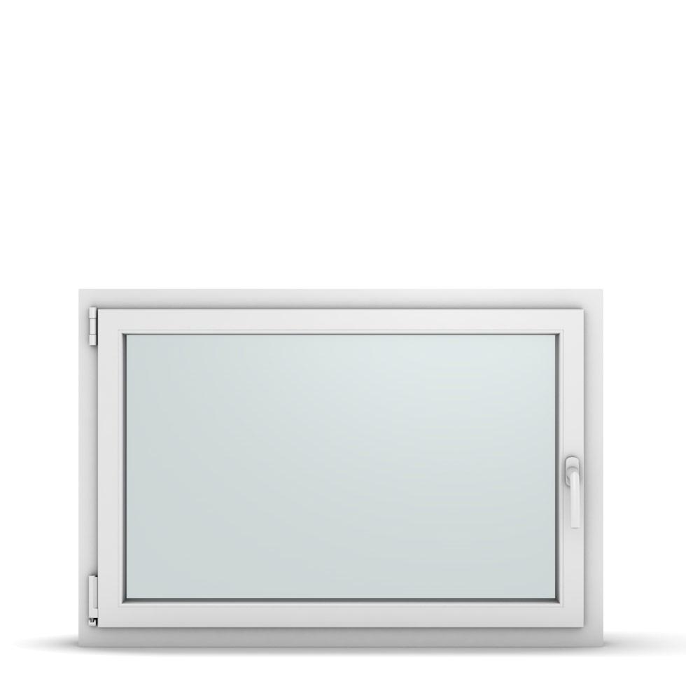 Wohnraumfenster 1-flg. Allegro Max Weiß 1100x750 mm DIN Dreh-Kipp Links-36892
