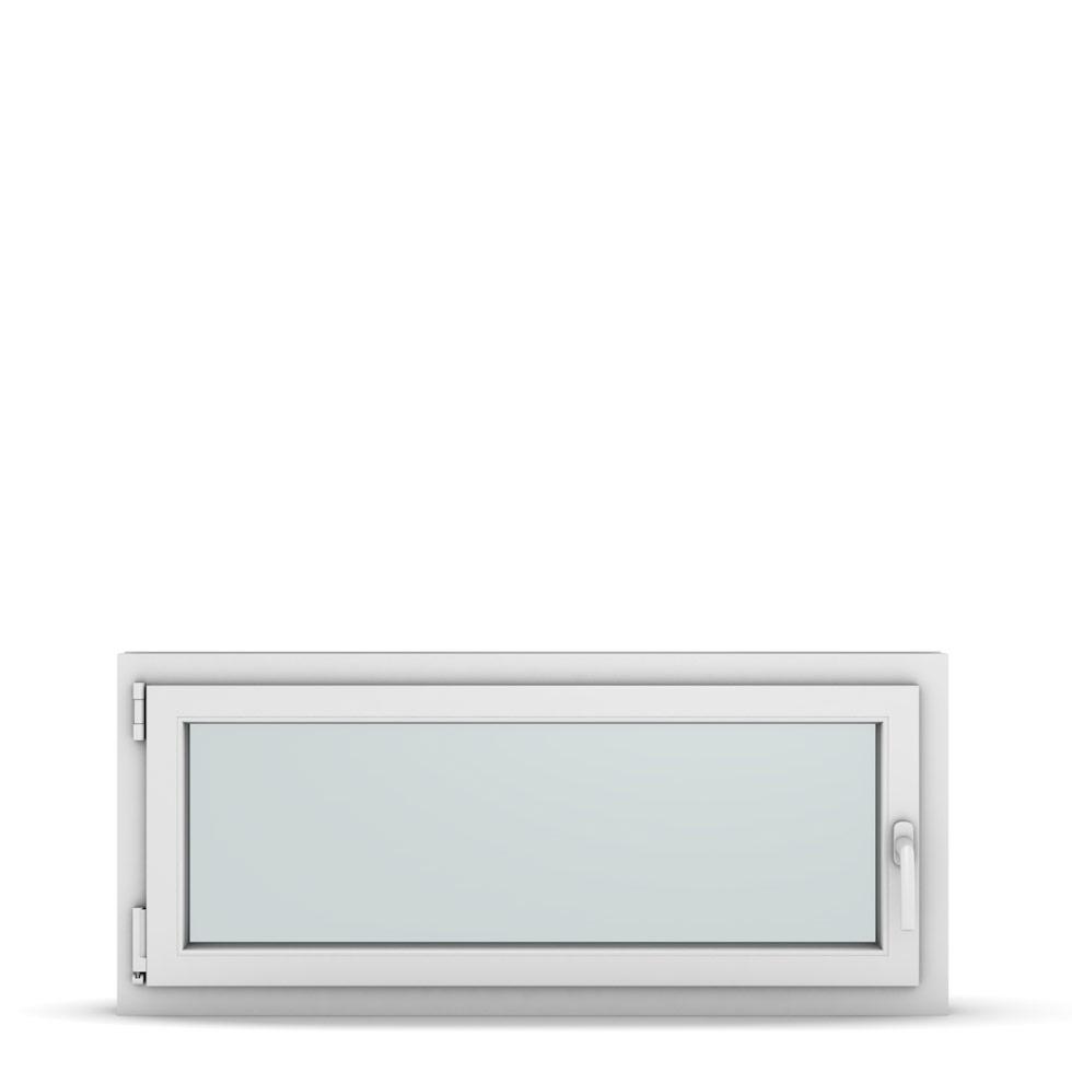 Wohnraumfenster 1-flg. Allegro Max Weiß 1150x500 mm DIN Dreh-Kipp Links-36912