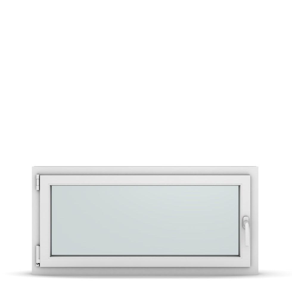 Wohnraumfenster 1-flg. Allegro Max Weiß 1150x550 mm DIN Dreh-Kipp Links-36913