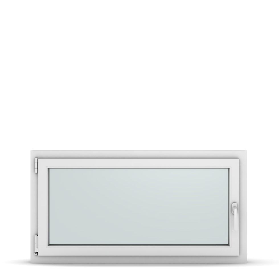 Wohnraumfenster 1-flg. Allegro Max Weiß 1150x600 mm DIN Dreh-Kipp Links-36914