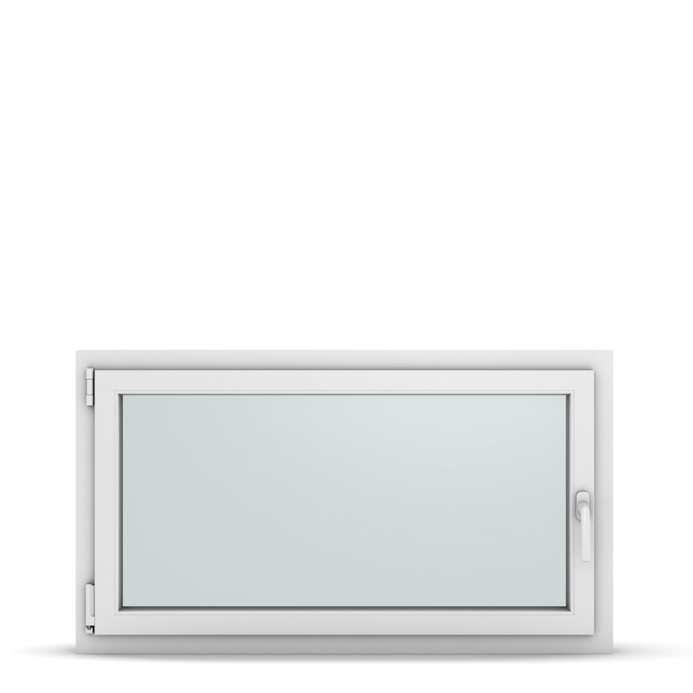 Wohnraumfenster 1-flg. Allegro Max Weiß 1150x650 mm DIN Dreh-Kipp Links-36915