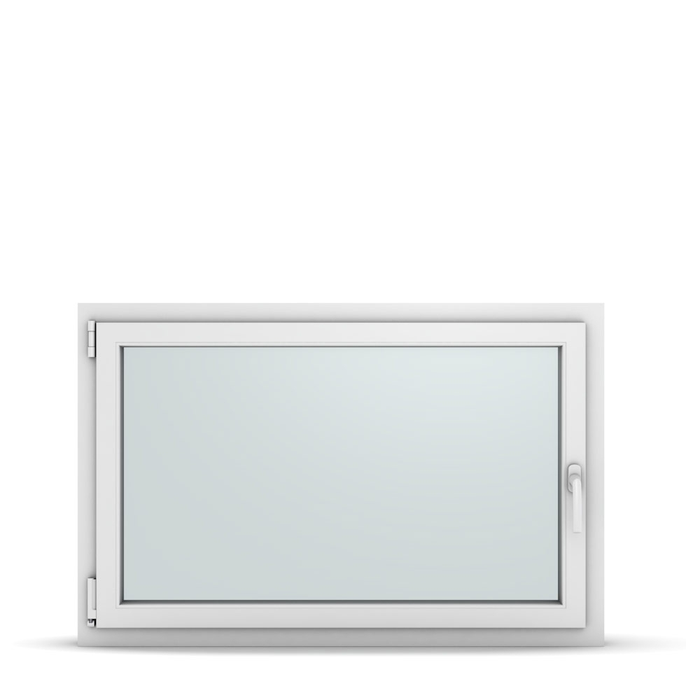 Wohnraumfenster 1-flg. Allegro Max Weiß 1150x750 mm DIN Dreh-Kipp Links-36917