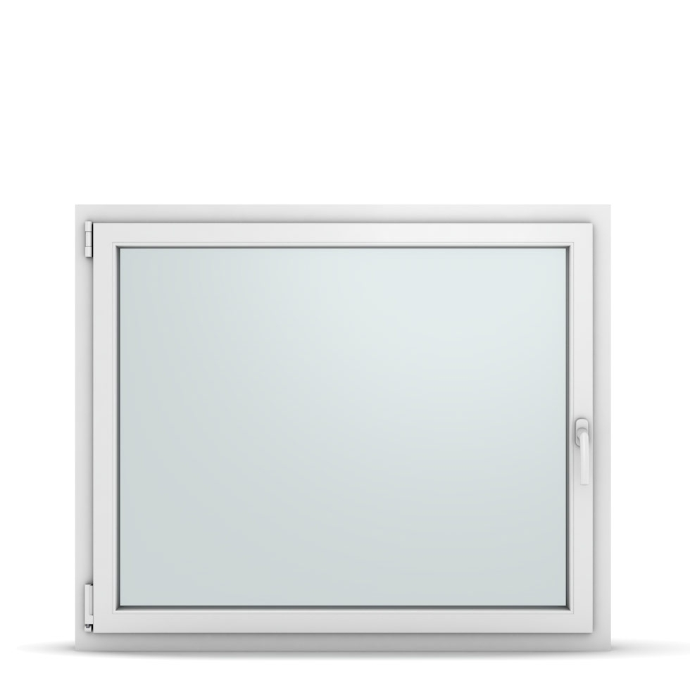 Wohnraumfenster 1-flg. Allegro Max Weiß 1200x1000 mm DIN Dreh-Kipp Links-36947
