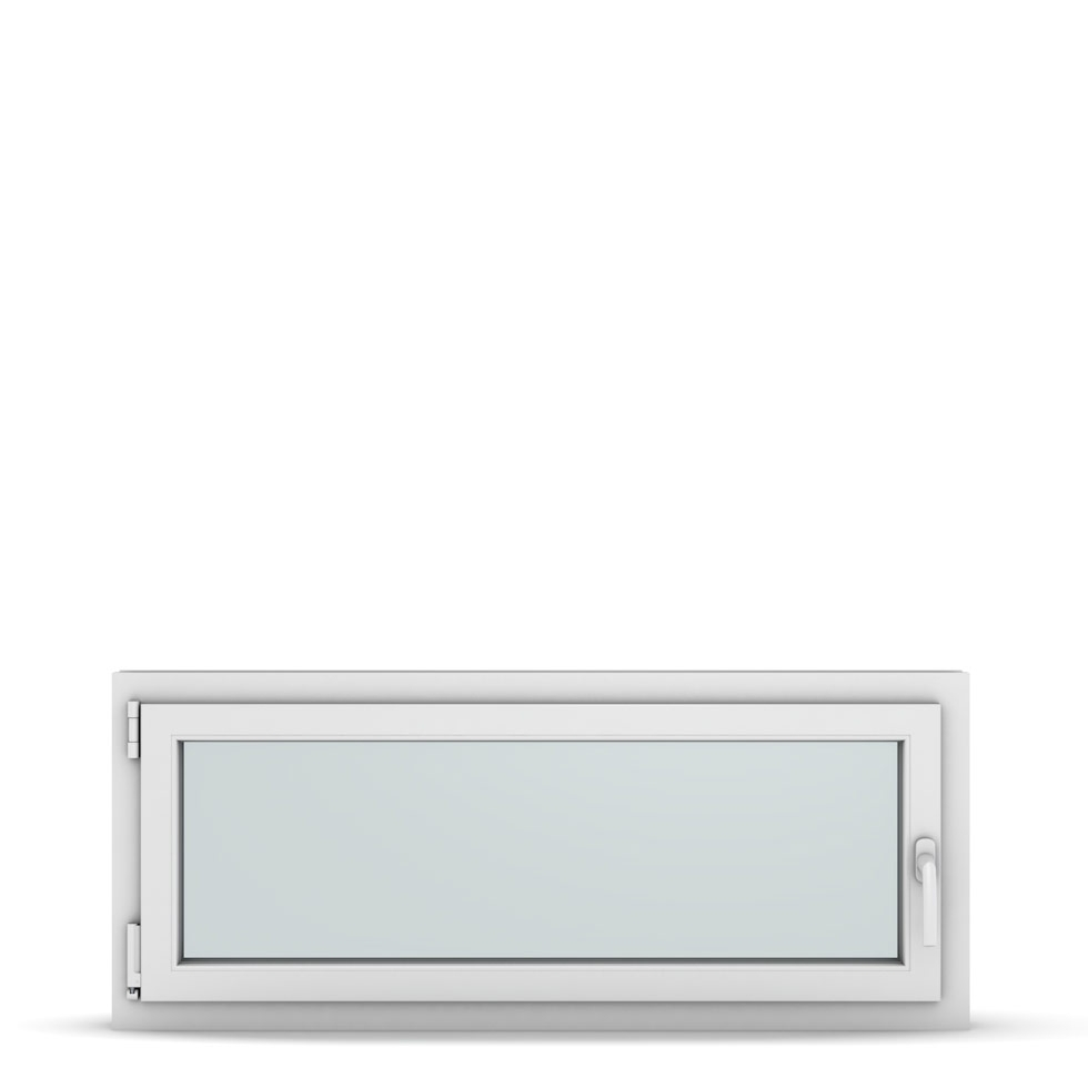 Wohnraumfenster 1-flg. Allegro Max Weiß 1200x500 mm DIN Dreh-Kipp Links-36937