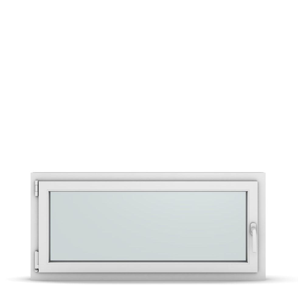 Wohnraumfenster 1-flg. Allegro Max Weiß 1200x550 mm DIN Dreh-Kipp Links-36938