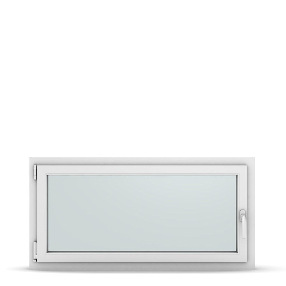 Wohnraumfenster 1-flg. Allegro Max Weiß 1200x600 mm DIN Dreh-Kipp Links-36939