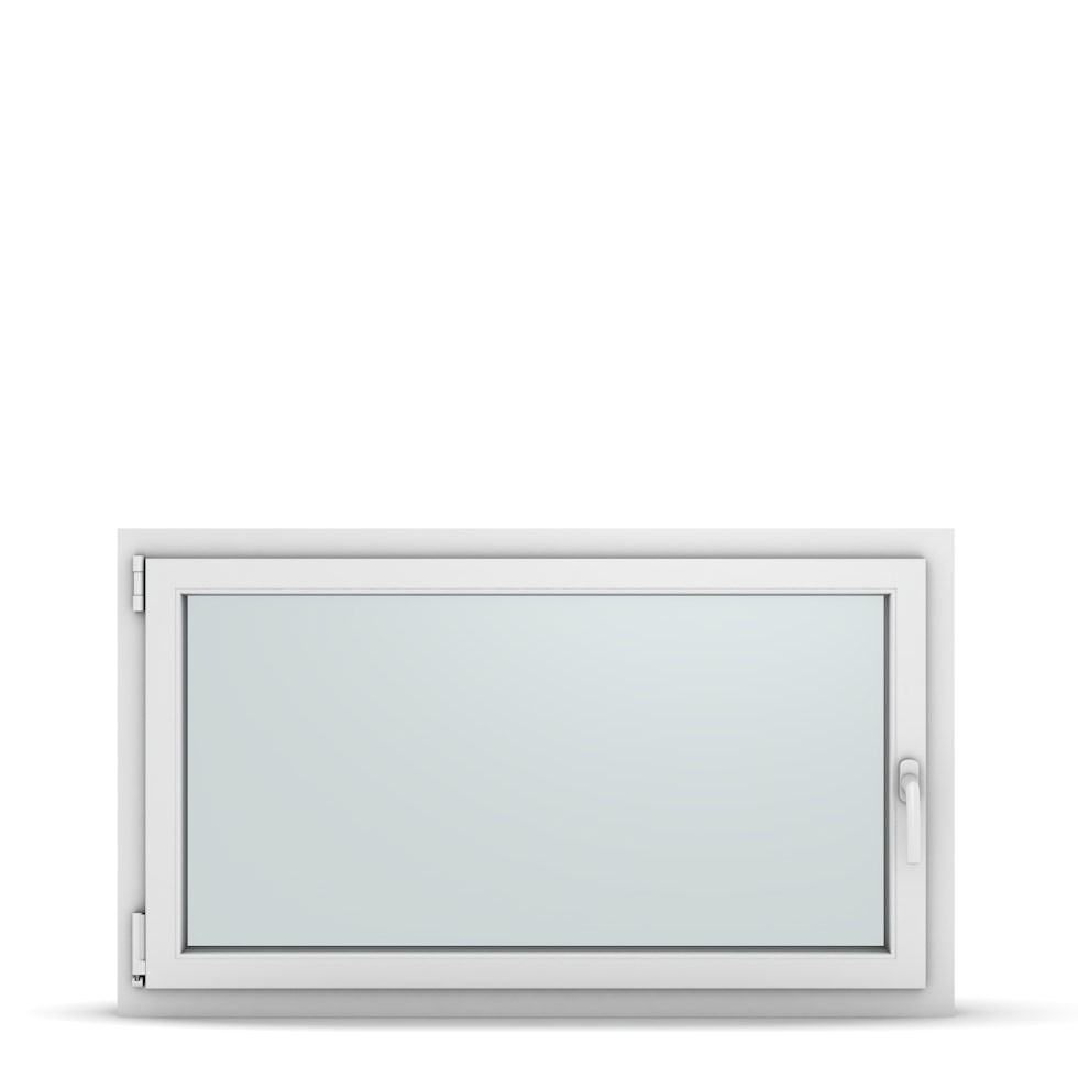 Wohnraumfenster 1-flg. Allegro Max Weiß 1200x700 mm DIN Dreh-Kipp Links-36941