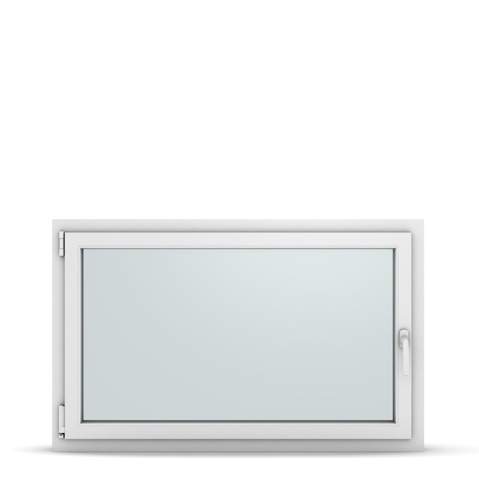 Wohnraumfenster 1-flg. Allegro Max Weiß 1200x750 mm DIN Dreh-Kipp Links-36942