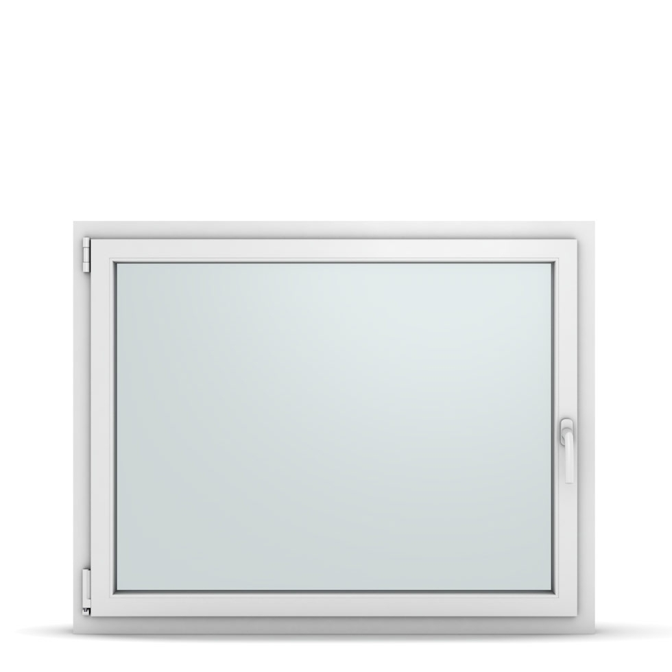 Wohnraumfenster 1-flg. Allegro Max Weiß 1200x950 mm DIN Dreh-Kipp Links-36946
