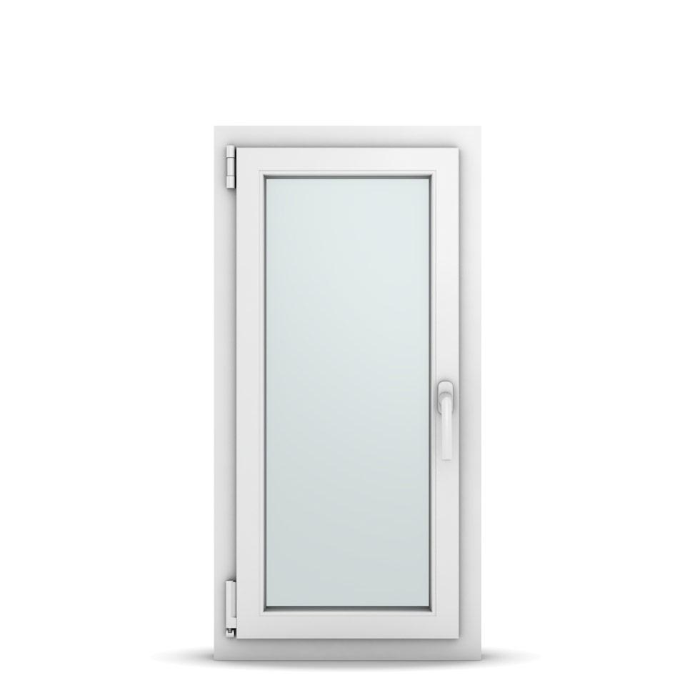 Wohnraumfenster 1-flg. Allegro Max Weiß 500x1000 mm DIN Dreh-Kipp Links-36598