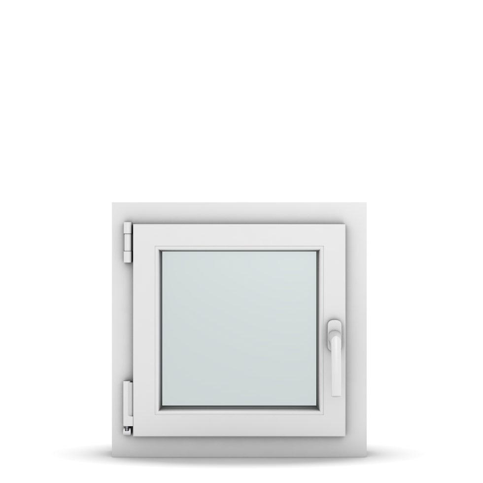 Wohnraumfenster 1-flg. Allegro Max Weiß 500x500 mm DIN Dreh-Kipp Links-36588