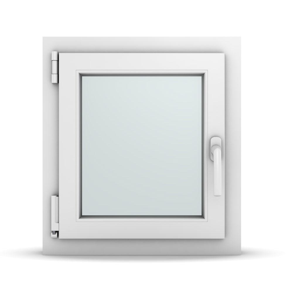 Wohnraumfenster 1-flg. Allegro Max Weiß 500x550 mm DIN Dreh-Kipp Links