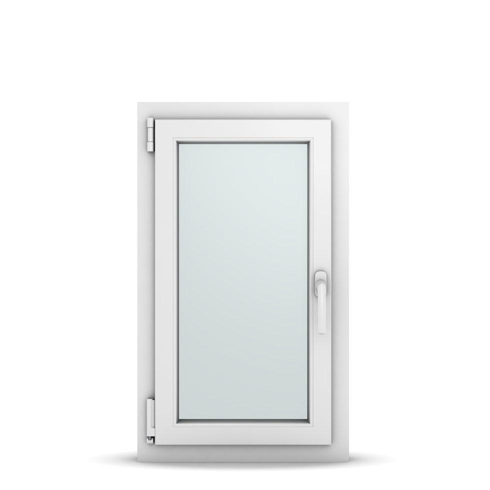 Wohnraumfenster 1-flg. Allegro Max Weiß 500x850 mm DIN Dreh-Kipp Links-36595