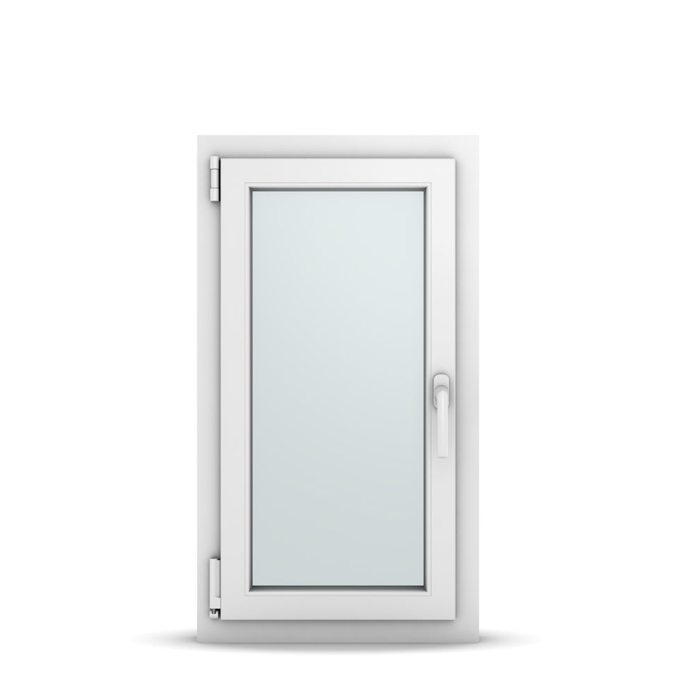 Wohnraumfenster 1-flg. Allegro Max Weiß 500x900 mm DIN Dreh-Kipp Links-36596