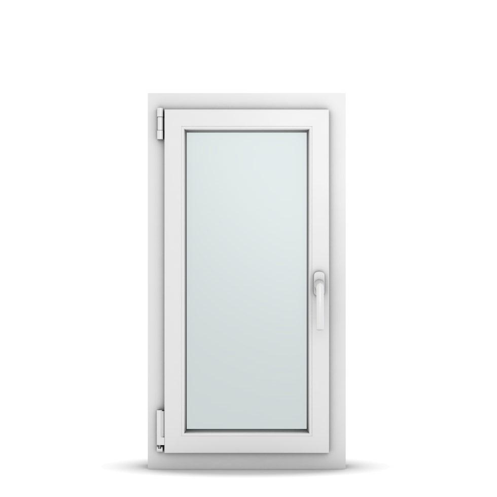 Wohnraumfenster 1-flg. Allegro Max Weiß 500x950 mm DIN Dreh-Kipp Links-36597