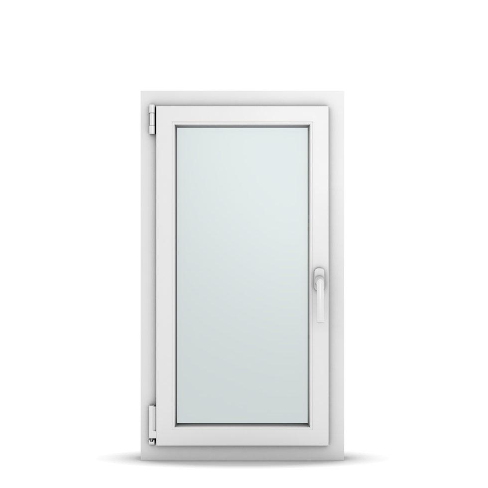 Wohnraumfenster 1-flg. Allegro Max Weiß 550x1000 mm DIN Dreh-Kipp Links-36623