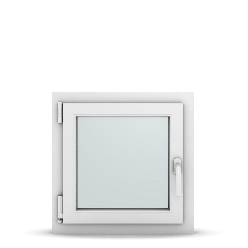 Wohnraumfenster 1-flg. Allegro Max Weiß 550x550 mm DIN Dreh-Kipp Links-36614