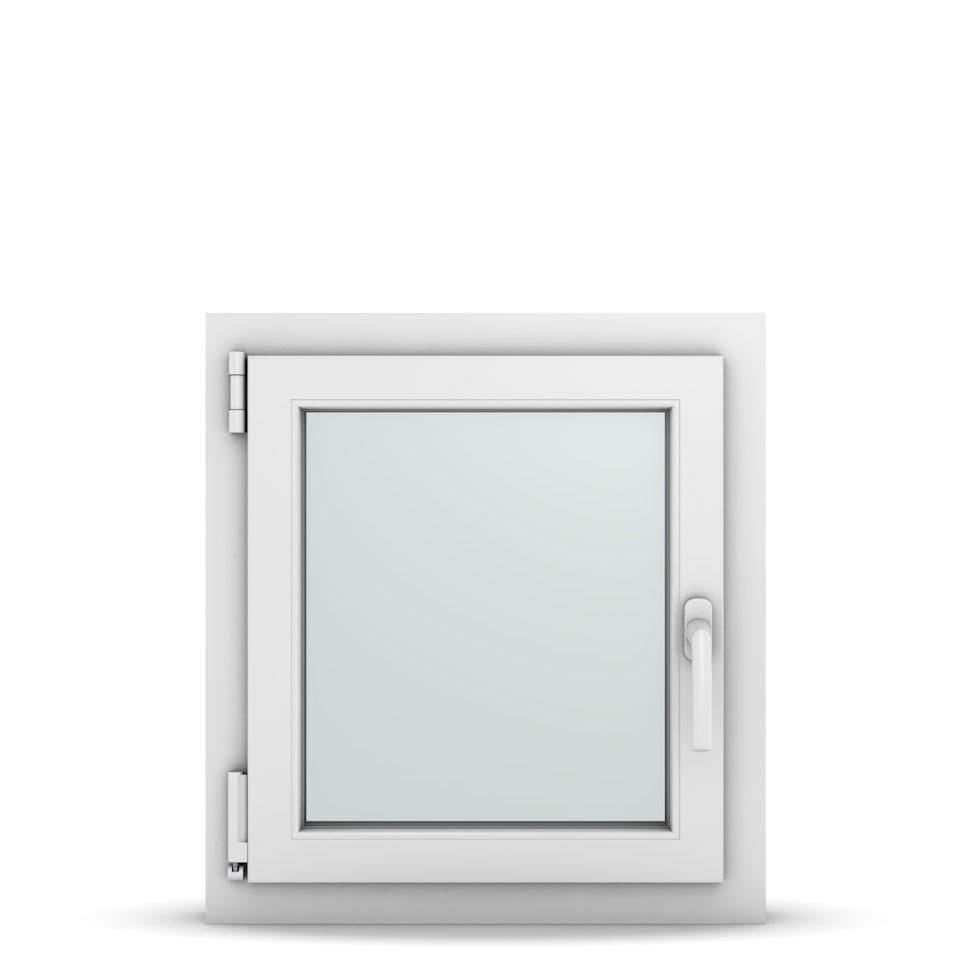 Wohnraumfenster 1-flg. Allegro Max Weiß 550x600 mm DIN Dreh-Kipp Links-36615
