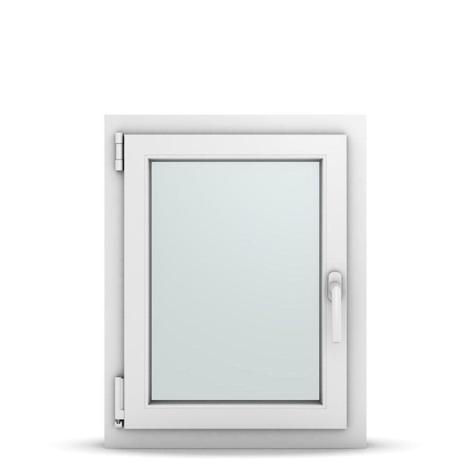 Wohnraumfenster 1-flg. Allegro Max Weiß 550x700 mm DIN Dreh-Kipp Links-36617