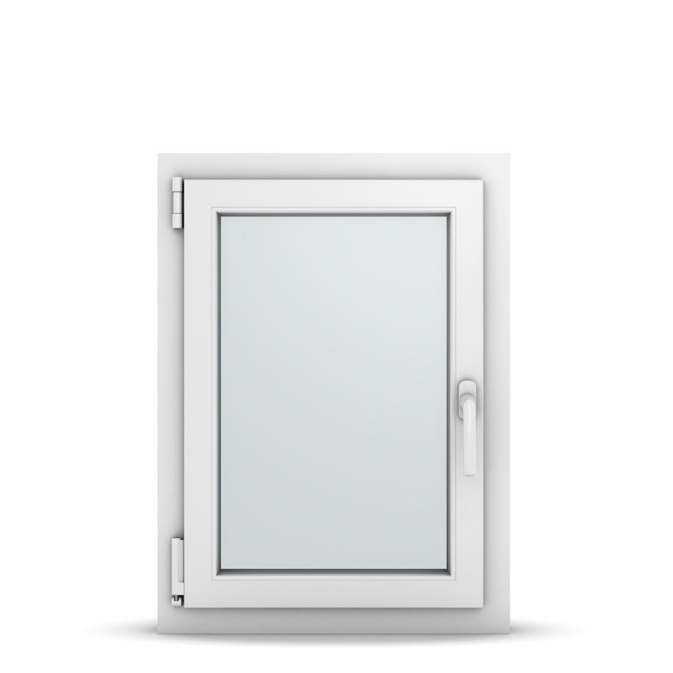 Wohnraumfenster 1-flg. Allegro Max Weiß 550x750 mm DIN Dreh-Kipp Links-36618