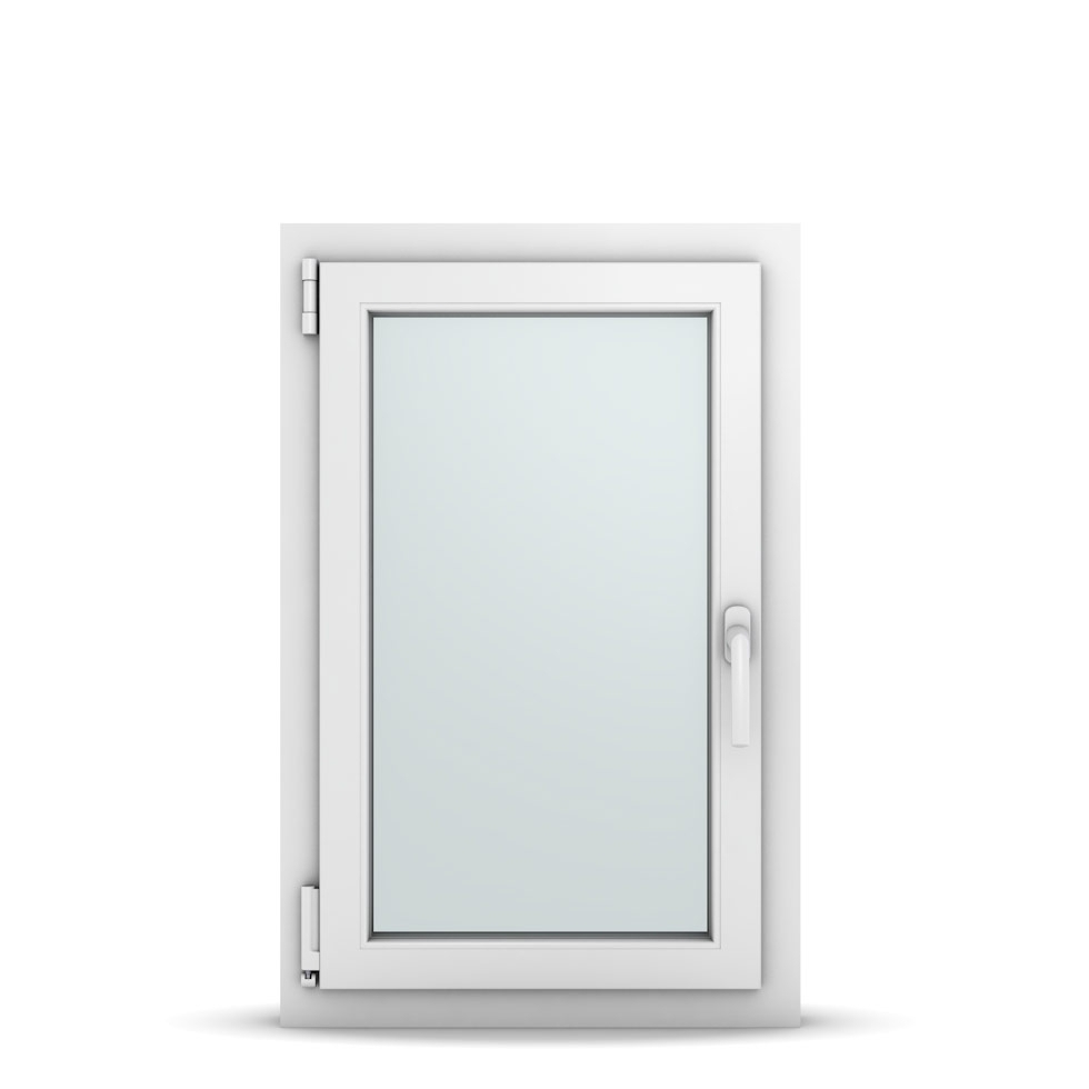 Wohnraumfenster 1-flg. Allegro Max Weiß 550x850 mm DIN Dreh-Kipp Links-36620