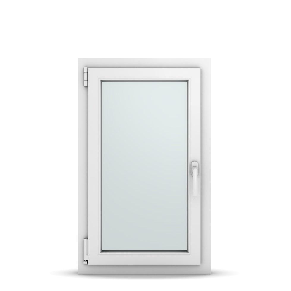 Wohnraumfenster 1-flg. Allegro Max Weiß 550x900 mm DIN Dreh-Kipp Links-36621