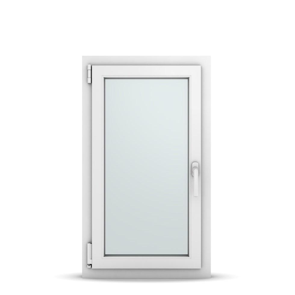 Wohnraumfenster 1-flg. Allegro Max Weiß 550x950 mm DIN Dreh-Kipp Links-36622