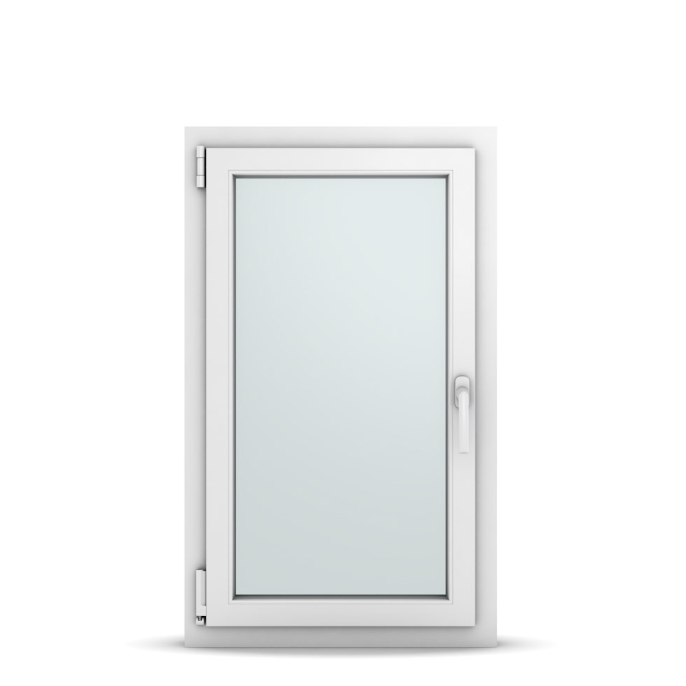 Wohnraumfenster 1-flg. Allegro Max Weiß 600x1000 mm DIN Dreh-Kipp Links-36648