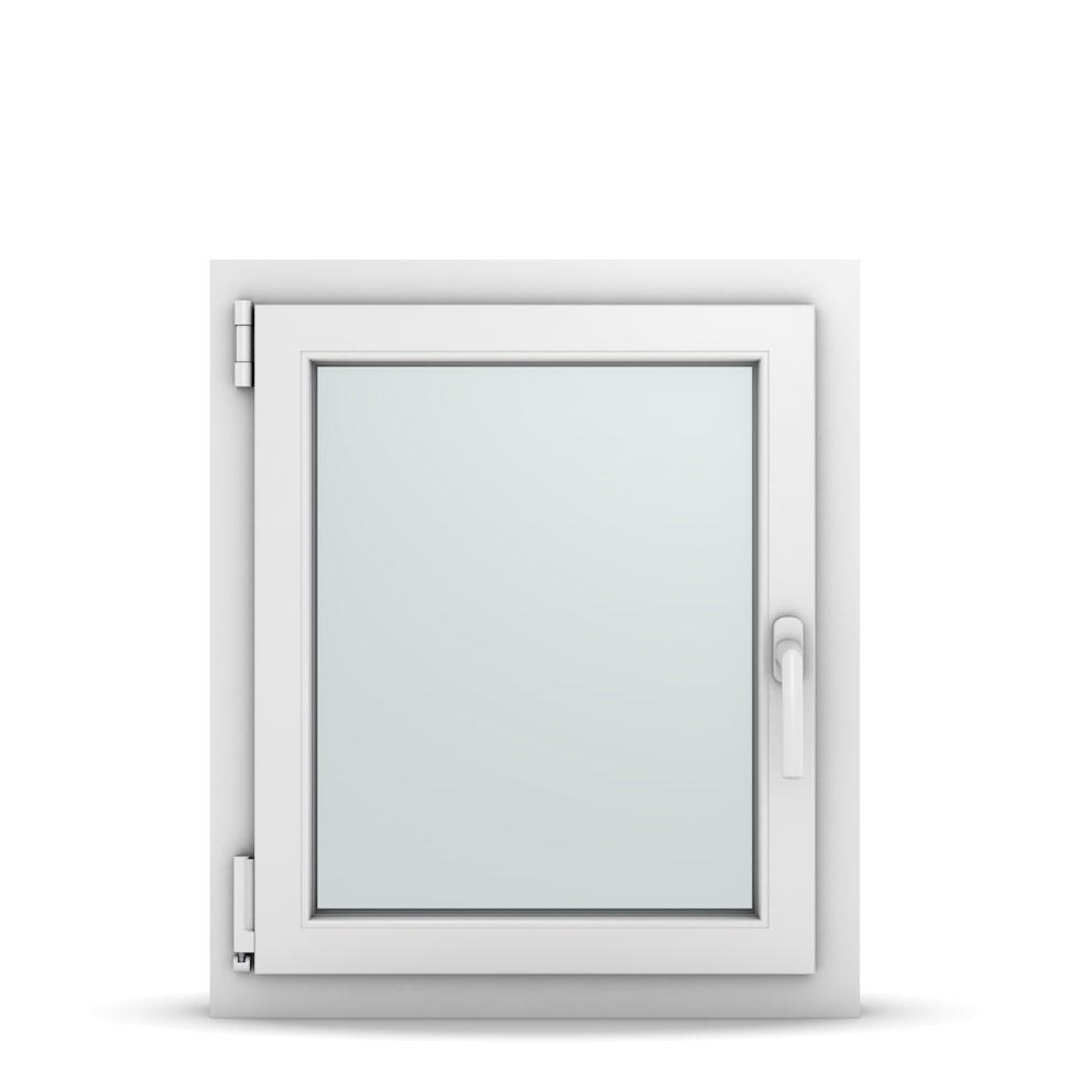 Wohnraumfenster 1-flg. Allegro Max Weiß 600x700 mm DIN Dreh-Kipp Links-36642