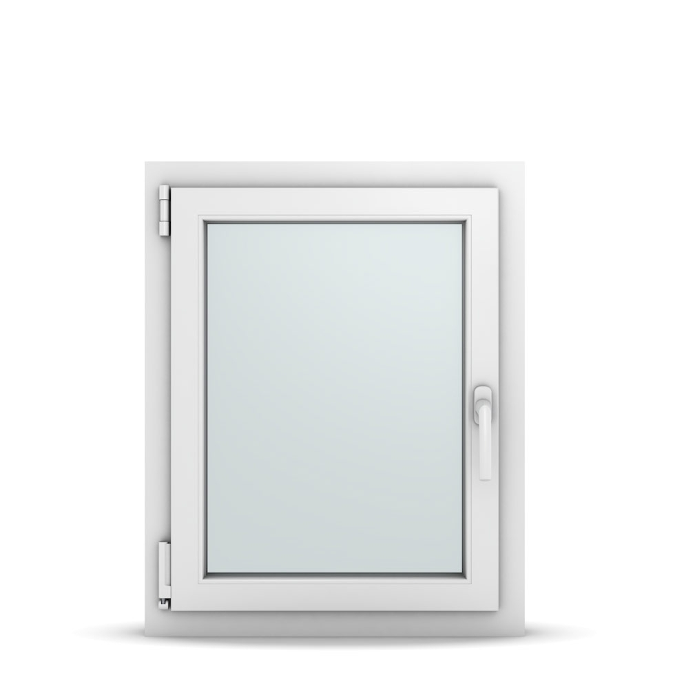 Wohnraumfenster 1-flg. Allegro Max Weiß 600x750 mm DIN Dreh-Kipp Links-36643