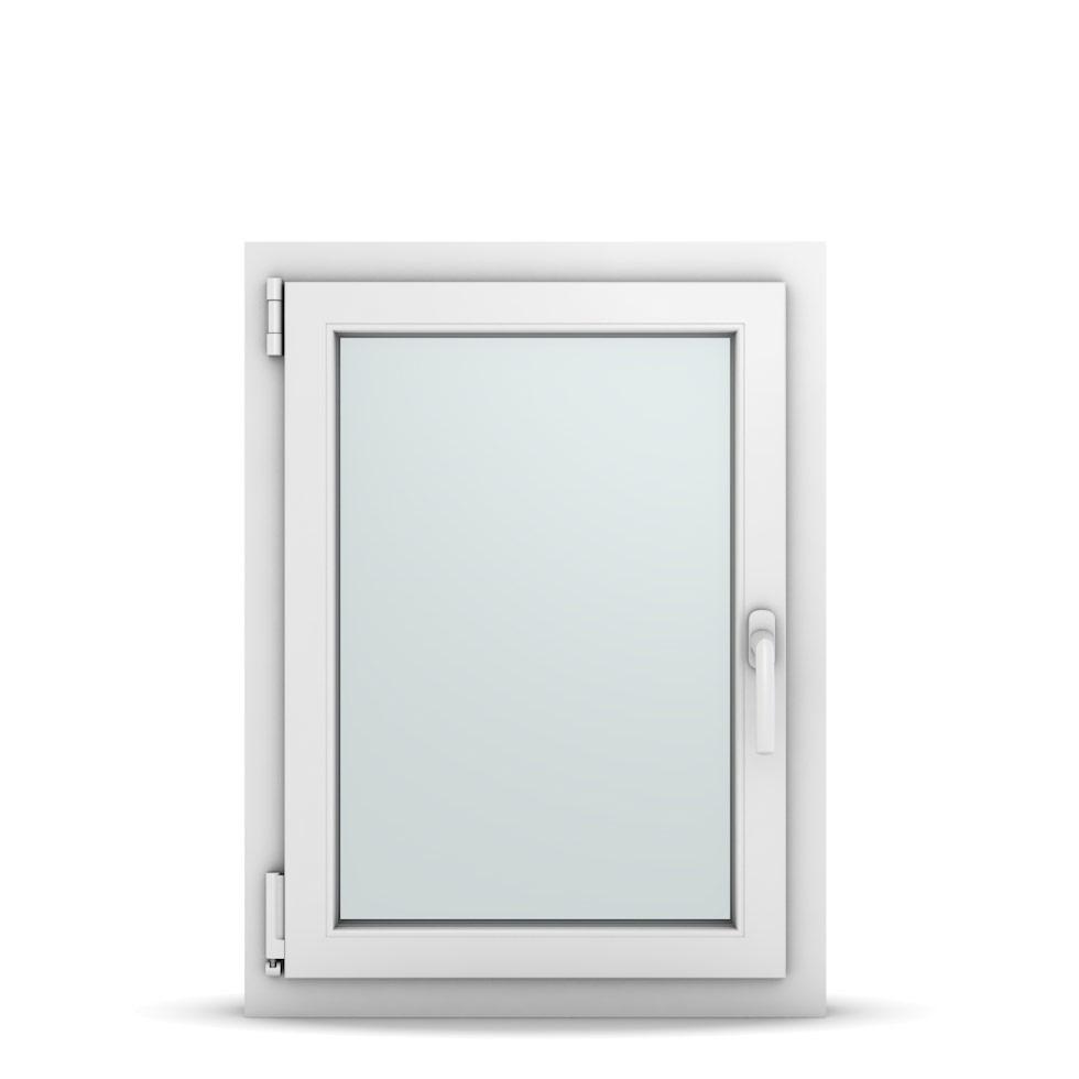 Wohnraumfenster 1-flg. Allegro Max Weiß 600x800 mm DIN Dreh-Kipp Links-36644