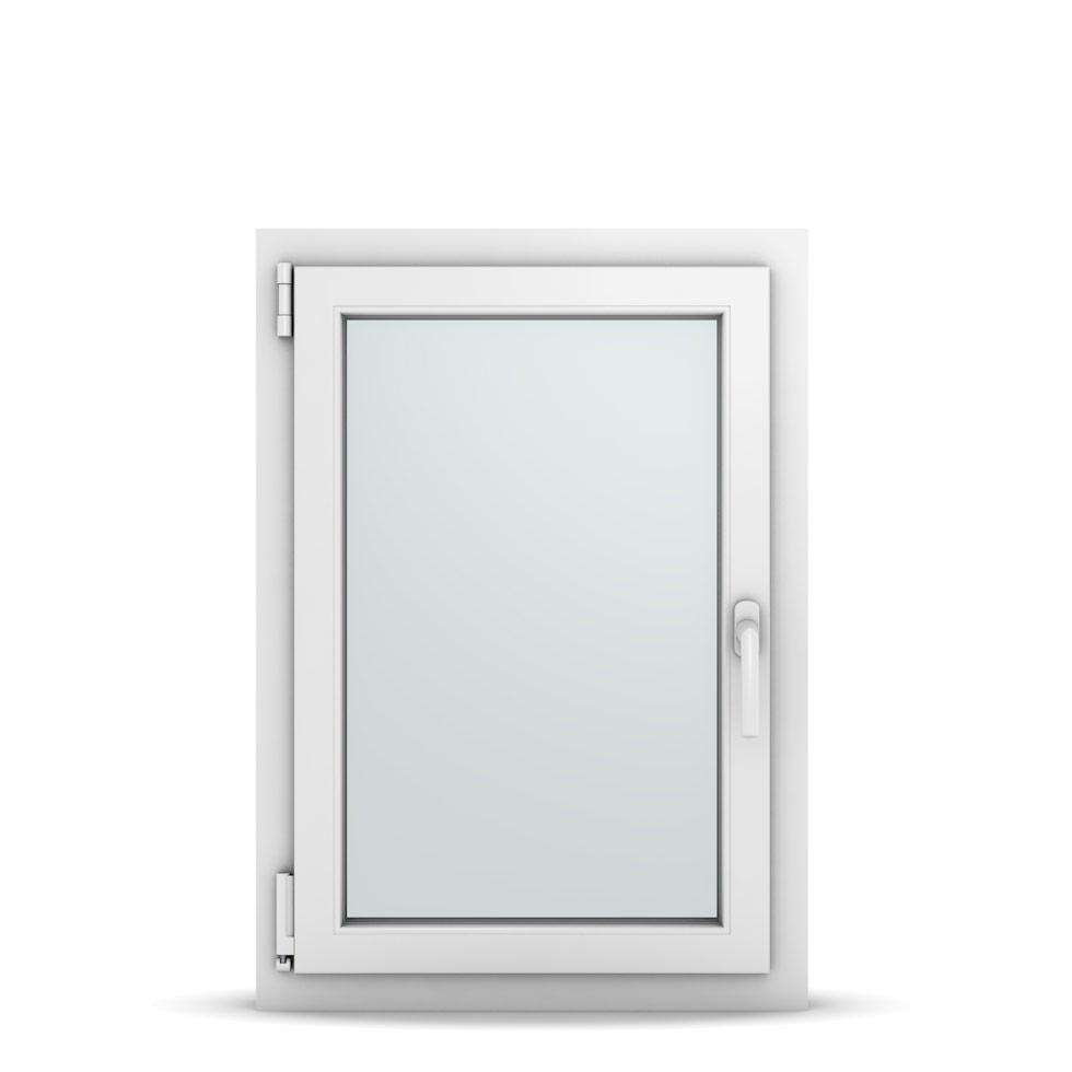 Wohnraumfenster 1-flg. Allegro Max Weiß 600x850 mm DIN Dreh-Kipp Links-36645