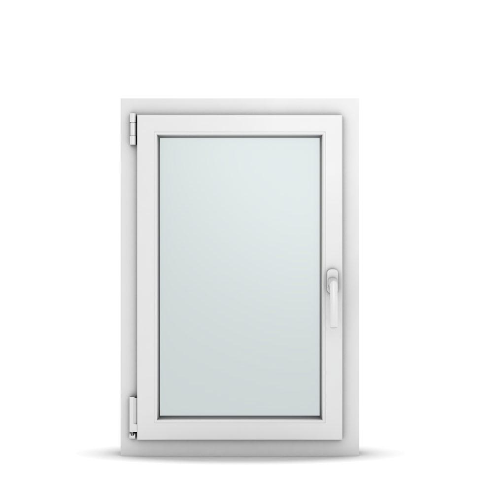 Wohnraumfenster 1-flg. Allegro Max Weiß 600x900 mm DIN Dreh-Kipp Links-36646